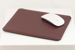 Leather Mouse mat in Oxford hide