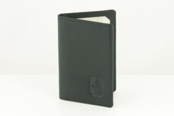 Leather ID Holder in Malvern hide