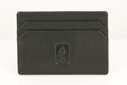 Leather Slim Card Case in Malvern hide