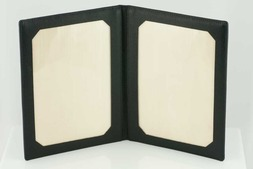 Leather Travel photo frame in Malvern